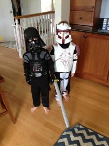 Barefoot Star Wars