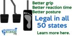 Driving barefoot is legal in all 50 states