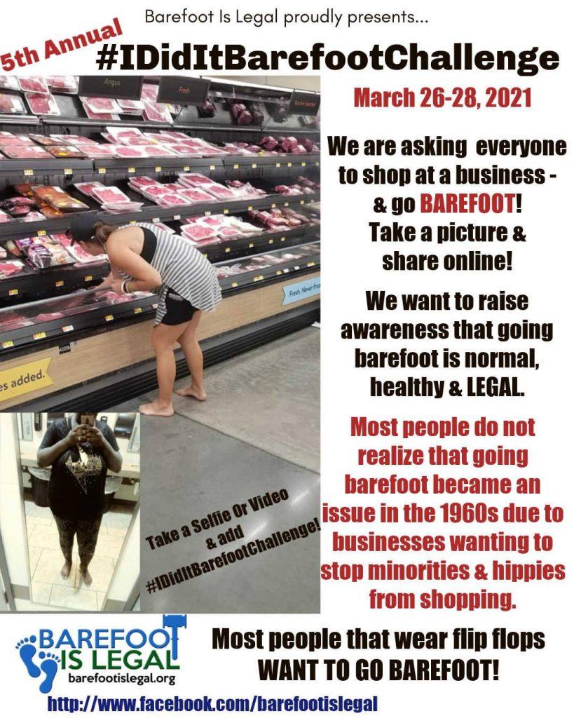 Barefoot Challenge